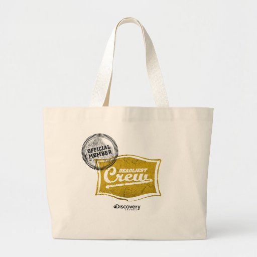 Deadliest Crew Member Tote Canvas Bag