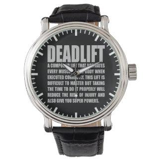 Deadlift - Funny Workout Motivational Watch