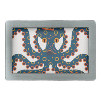 Deadline octopus belt buckle