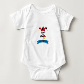 deadly humor joker baby bodysuit