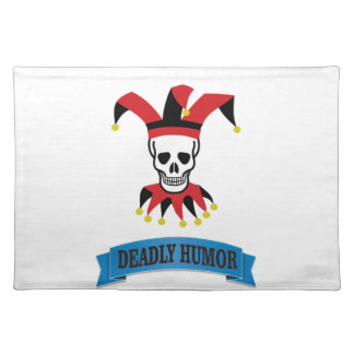 deadly humor joker placemat