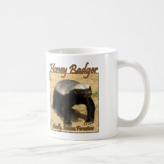 Deadly, Insane, Ferocious Honey Badger Mug