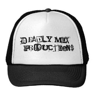 Deadly Mix Productions trucker cap (Black)