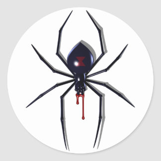 Deadly Spider Bite Stickers