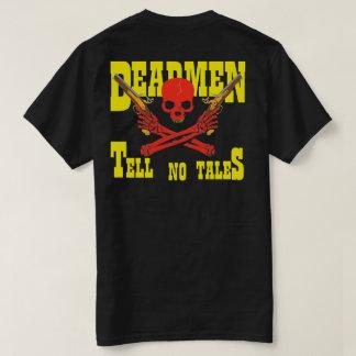 DEADMEN TELL NO TALES SKULL & CROSSED PISTOLS T-Shirt