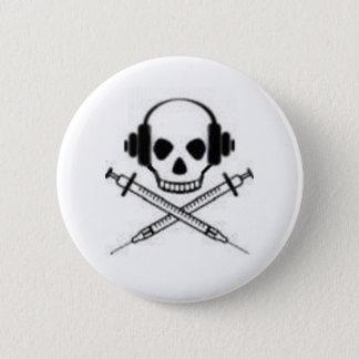 Deadphones 6 Cm Round Badge