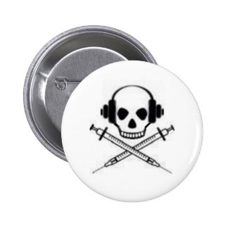 Deadphones 6 Cm Round Badge