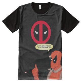 Deadpool Chump Tee All-Over Print T-Shirt