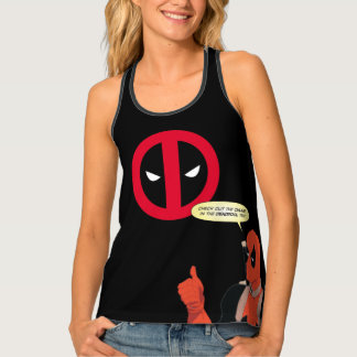 Deadpool Chump Tee Tank Top