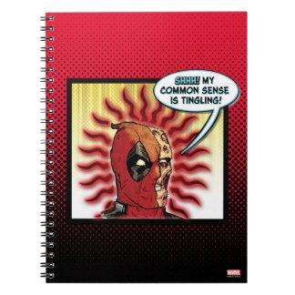 Deadpool Common Sense Spiral Note Books