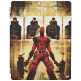 Deadpool Firing Range iPad Cover
