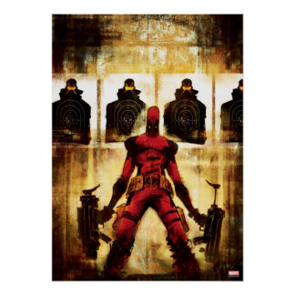 Deadpool Firing Range Poster