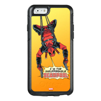 Deadpool Hanging From Harness OtterBox iPhone 6/6s Case