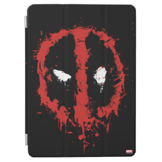 Deadpool Paint Splatter Logo iPad Air Cover