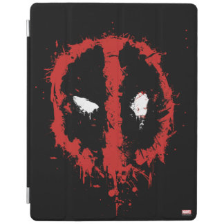 Deadpool Paint Splatter Logo iPad Cover