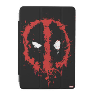Deadpool Paint Splatter Logo iPad Mini Cover