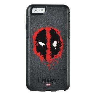 Deadpool Paint Splatter Logo OtterBox iPhone 6/6s Case