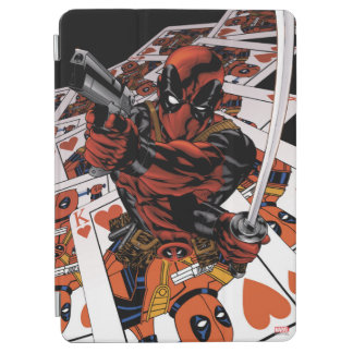 Deadpool Playing Cards iPad Air Cover