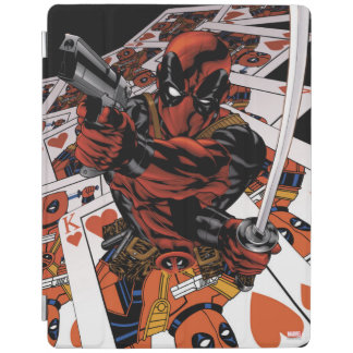 Deadpool Playing Cards iPad Cover