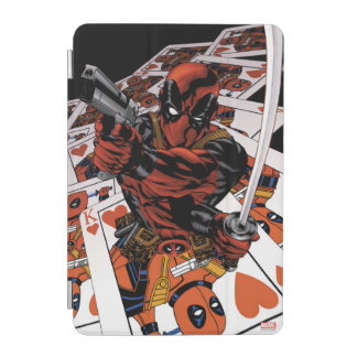 Deadpool Playing Cards iPad Mini Cover