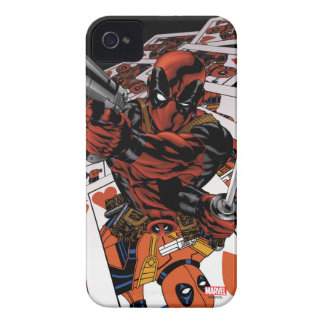 Deadpool Playing Cards iPhone 4 Covers