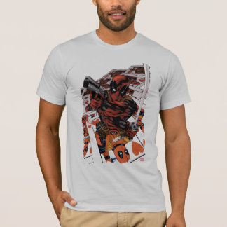 Deadpool Playing Cards T-Shirt