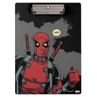 Deadpool Yep Clipboards