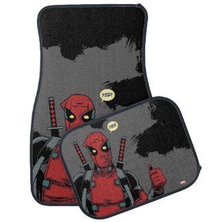 Deadpool Yep Floor Mat