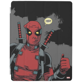 Deadpool Yep iPad Cover