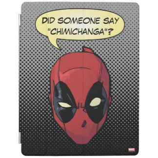 Deadpool's Head iPad Cover