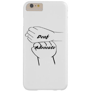 Deaf Advocate Barely There iPhone 6 Plus Case