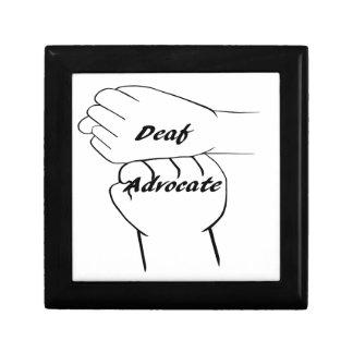 Deaf Advocate Gift Box