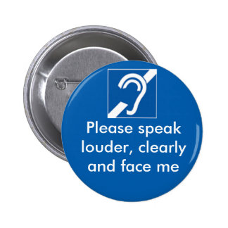 Deaf and hard of hearing badge