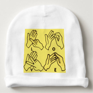 """Deaf Love"" by Axel Bottenberg Baby Beanie"