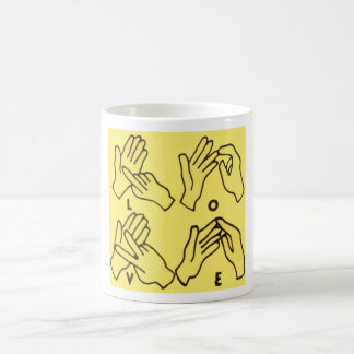 """Deaf Love"" by Axel Bottenberg Coffee Mug"