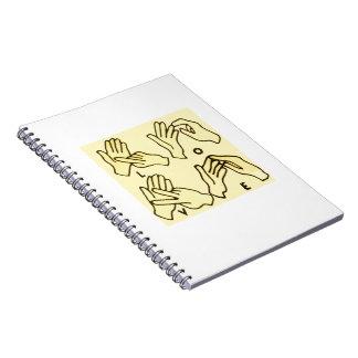 """Deaf Love"" by Axel Bottenberg Notebook"