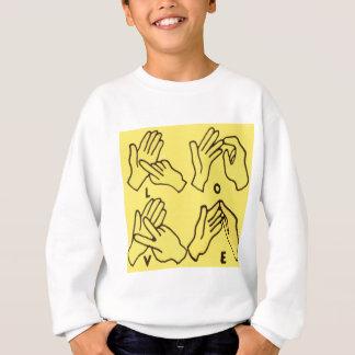 """""""Deaf Love"""" by Axel Bottenberg Sweatshirt"""