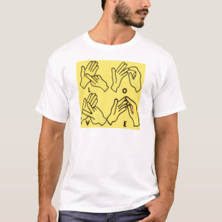"""Deaf Love"" by Axel Bottenberg T-Shirt"