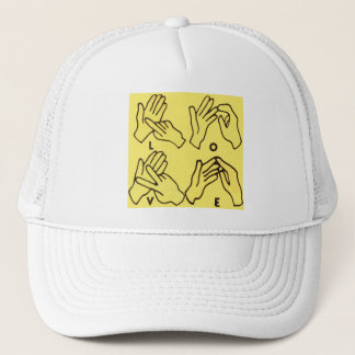 """Deaf Love"" by Axel Bottenberg Trucker Hat"