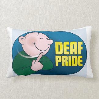 Deaf Pride pillow