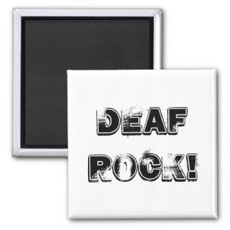 Deaf Rock Magnet
