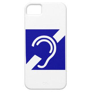 Deaf Symbol iPhone 5 Cases