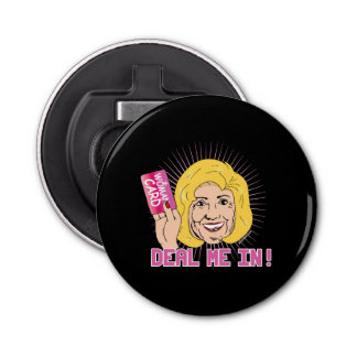Deal me in - I've got the Woman Card -