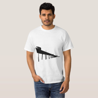 Deal Pier Silhouette T-Shirt
