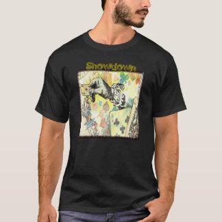 """Dealing cards"", Men's Basic Dark T-Shirt"
