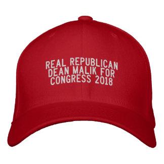 Dean Malik for Congress RED CAP