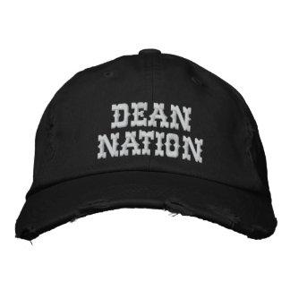Dean Nation Distressed Adjustable Cap Baseball Cap