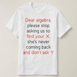 Dear Algebra Shirts