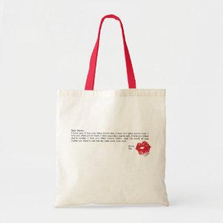 Dear Bacon Tote Bags