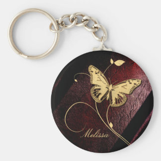 Dear Butterfly ID199 Key Ring